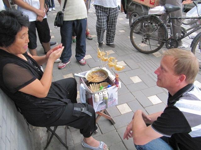 So Bläst Man In China