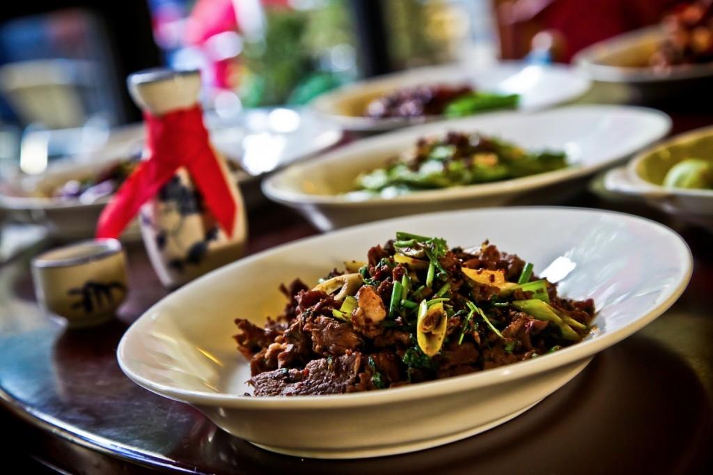 Rind, Schwein und Lamm im Restaurant Peking Ente Berlin