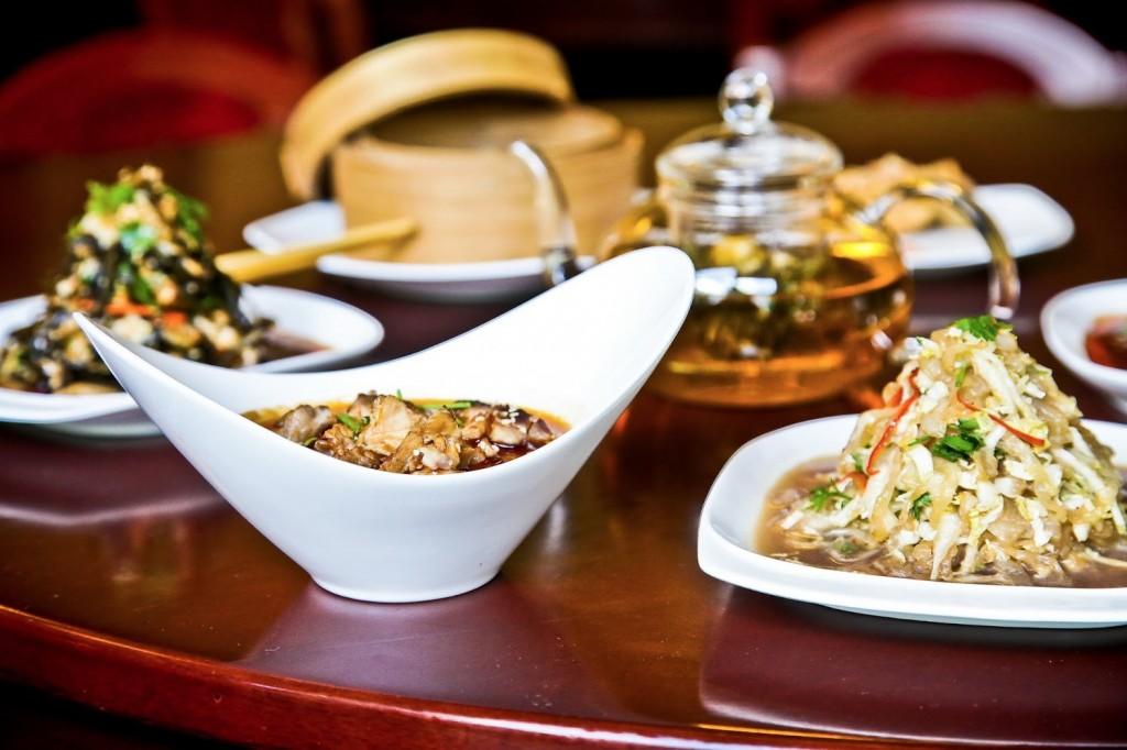 Leckere Vorspeisen im Restaurant Peking Ente Berlin